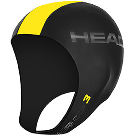 Head 3mm Swimcap black/yellow